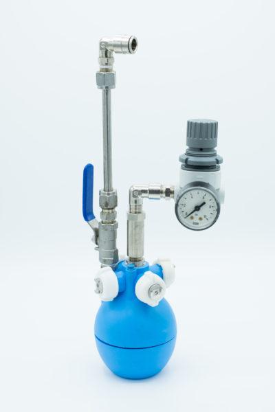 Impianti di raffrescamento con sfera pneumatica